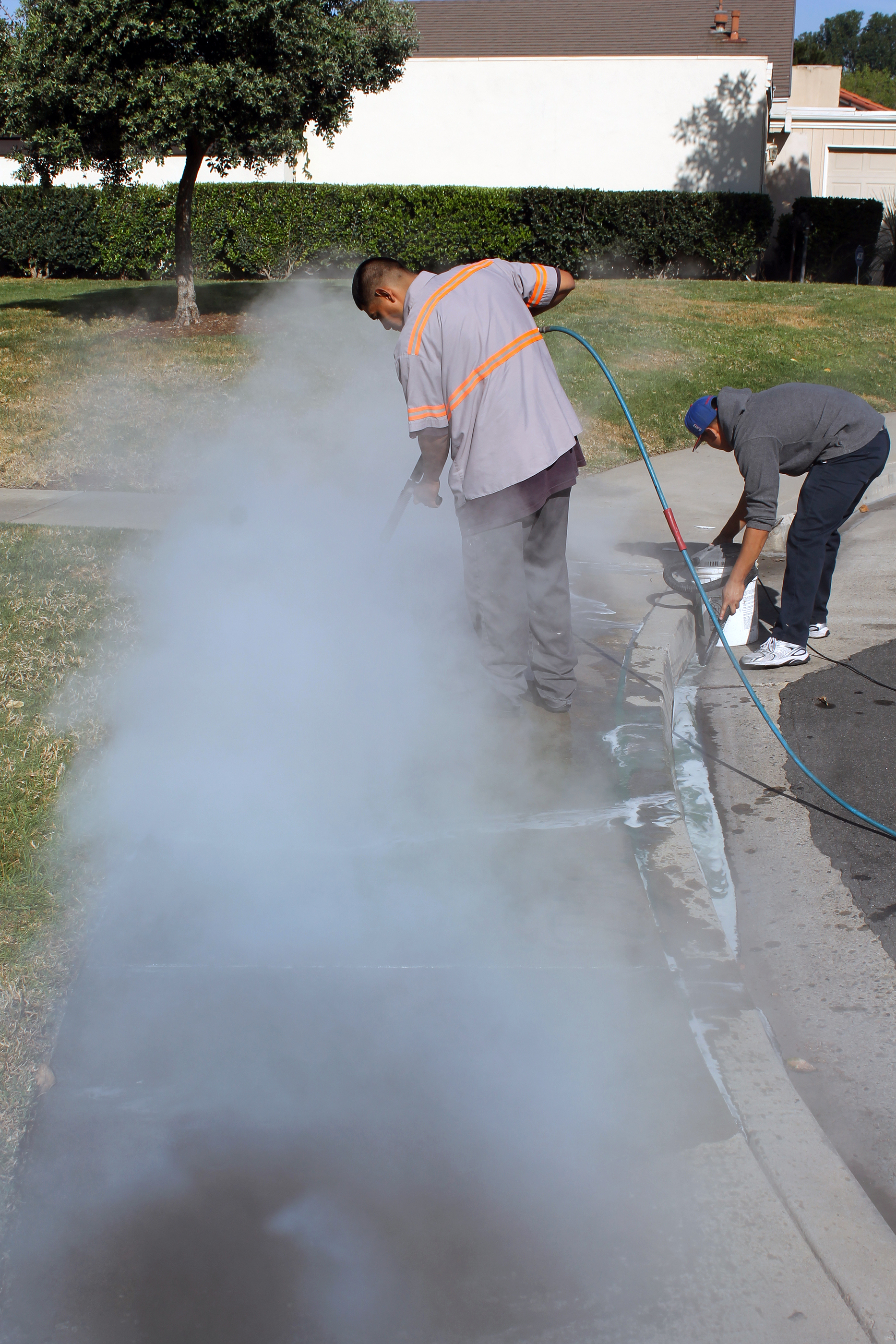 Commercial Business Sidewalk Cleaning Flower Mound TX