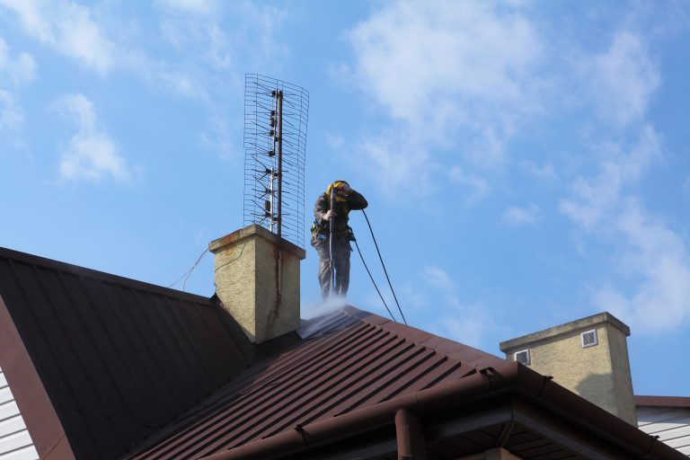 Flower Mound Gutter Pressure Washing Services