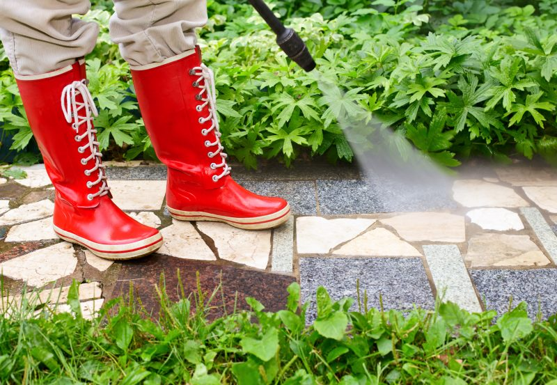 Sidewalk Pressure Washing Flower Mound
